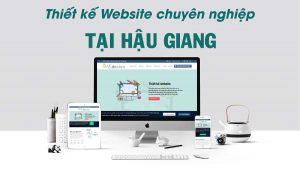 Thiết kế web tại Hậu Giang
