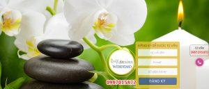 Mẫu website đá massage