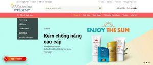 Mẫu website đồ giá rẻ