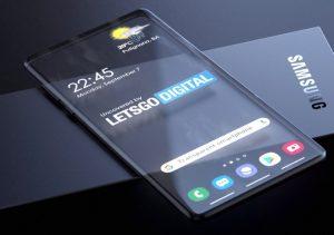 Ảnh dựng điện thoại trong suốt dựa trên bằng sáng chế của Samsung